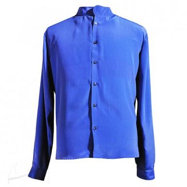 Czerwona koszula jedwabna Łatka Fashion  uCgLB